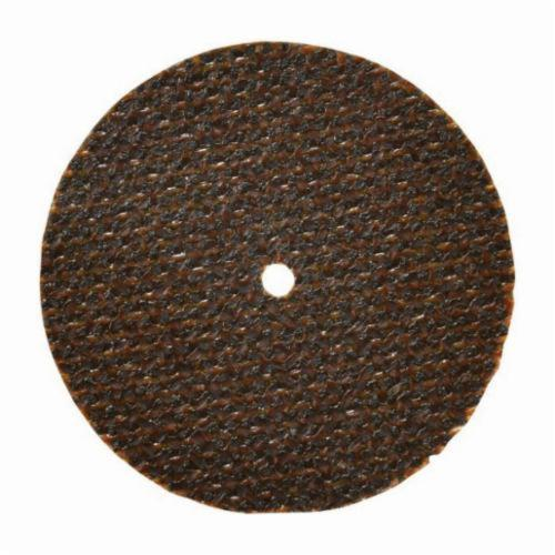 Norton® Gemini® 66243510641 Fast Cut Small Diameter Cut-Off Wheel, 2-1/2 in Dia x 1/16 in THK, 3/8 in Center Hole, 36 Grit, Aluminum Oxide Abrasive