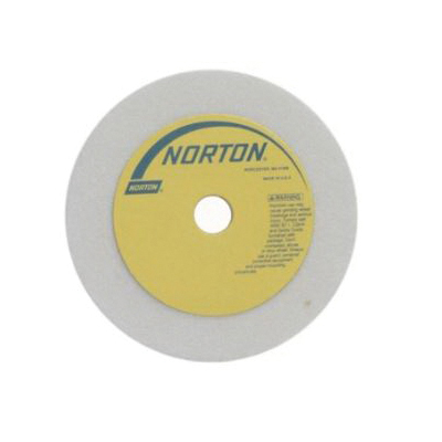 Norton® 66243521360 38A Straight Dressing Wheel, 3 in Dia x 1 in THK, 1/2 in Center Hole, 60 Grit, Aluminum Oxide Abrasive