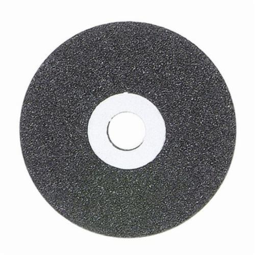 Norton® Gemini® 66243522221 57A Reinforced Portable Snagging Wheel, 4 in Dia x 1/4 in THK, 3/8 in Center Hole, 24 Grit, Aluminum Oxide Abrasive