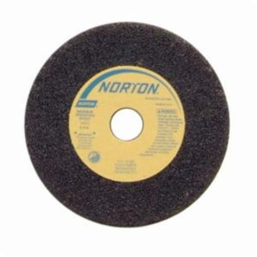 Norton® Gemini® 66243522507 57A Type 01 Portable Snagging Wheel, 4 in Dia Max, 1 in THK, Straight Shape