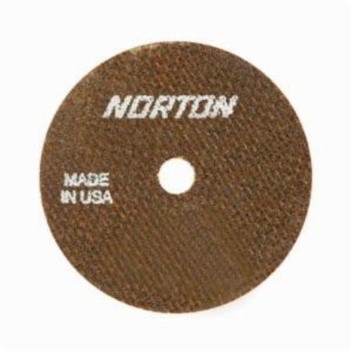Norton® 66243528471 All Purpose Cut-Off Wheel, 3 in Dia x 0.06 in THK, 1/4 in Center Hole, 60 Grit, Aluminum Oxide Abrasive