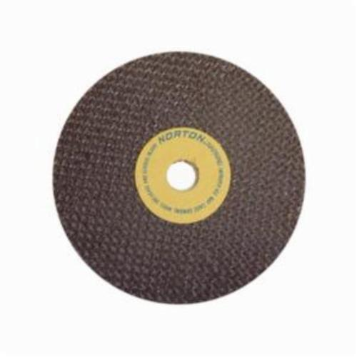 Norton® 66243528552 All Purpose Cut-Off Wheel, 3 in Dia x 0.06 in THK, 3/8 in Center Hole, 60 Grit, Aluminum Oxide Abrasive