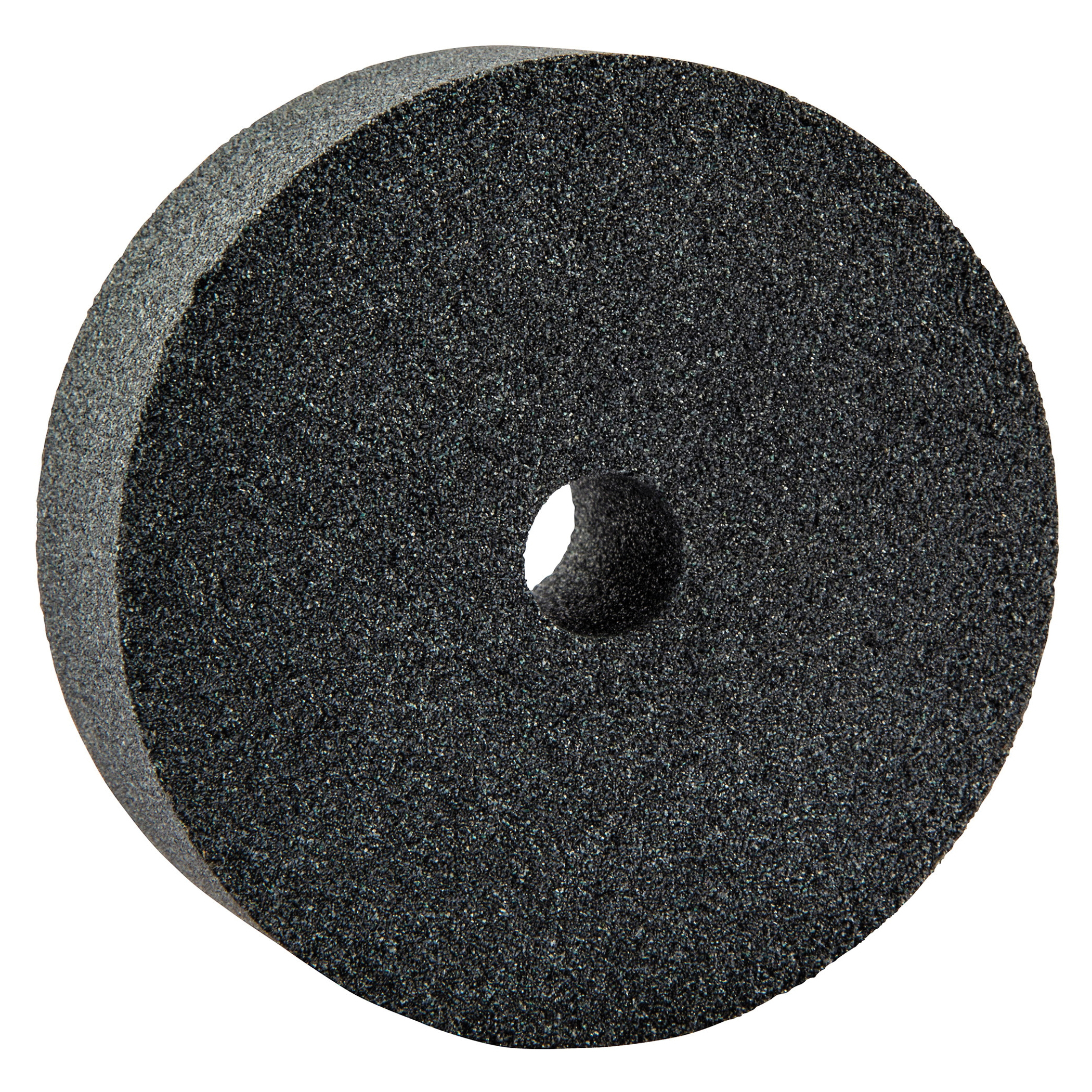 Norton® 66243529170 37C Straight Dressing Wheel, 3 in Dia x 1 in THK, 1/2 in Center Hole, 80 Grit, Silicon Carbide Abrasive
