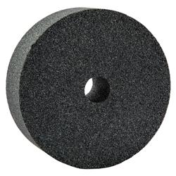 Norton® 66243529170 37C Straight Dressing Wheel, 3 in Dia x 1 in THK, 1/2 in Center Hole, 80 Grit, Silicon Carbide Abrasive
