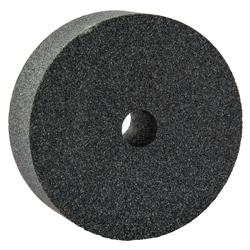 Norton® 66243529171 37C Straight Dressing Wheel, 3 in Dia x 1 in THK, 1/2 in Center Hole, 80 Grit, Silicon Carbide Abrasive