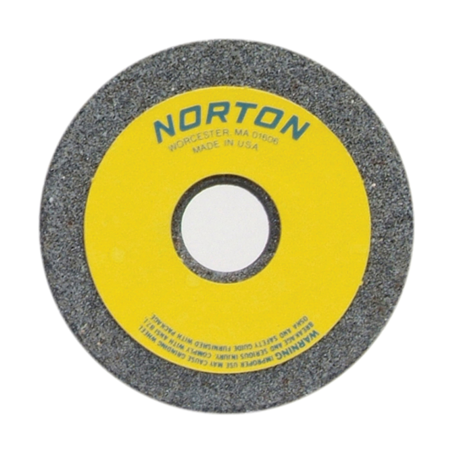 Norton® 66243529338 37C Toolroom Wheel, 3-1/2 in Dia x 1-1/2 in THK, 7/8 in Center Hole, 30 Grit, Silicon Carbide Abrasive