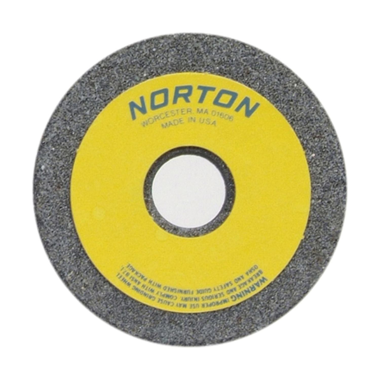 Norton® 66243529339 37C Toolroom Wheel, 3-1/2 in Dia x 1-1/2 in THK, 7/8 in Center Hole, 24 Grit, Silicon Carbide Abrasive