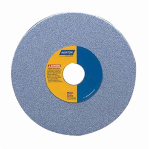 Norton® 66252838314 38A Straight Toolroom Wheel, 6 in Dia x 1 in THK, 4 in Center Hole, 80 Grit, Aluminum Oxide Abrasive
