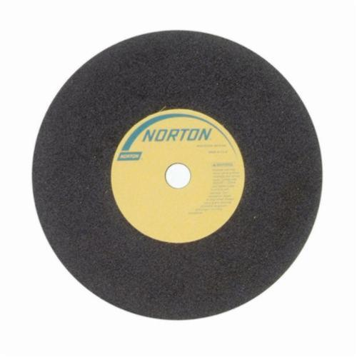 Norton® 66252822970 57A Toolroom Cut-Off Wheel, 6 in Dia x 1/16 in THK, 1/2 in Center Hole, 54 Grit, Aluminum Oxide Abrasive
