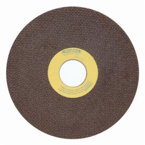 Norton® 66252835055 OBNA2 Toolroom Cut-Off Wheel, 6 in Dia x 0.035 in THK, 1-1/4 in Center Hole, 60 Grit, Aluminum Oxide Abrasive