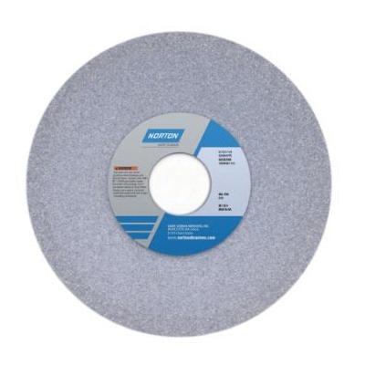 Norton® 66252835096 32AA Dish Toolroom Wheel, 6 in Dia x 1/2 in THK, 1-1/4 in Center Hole, 60 Grit, Aluminum Oxide Abrasive