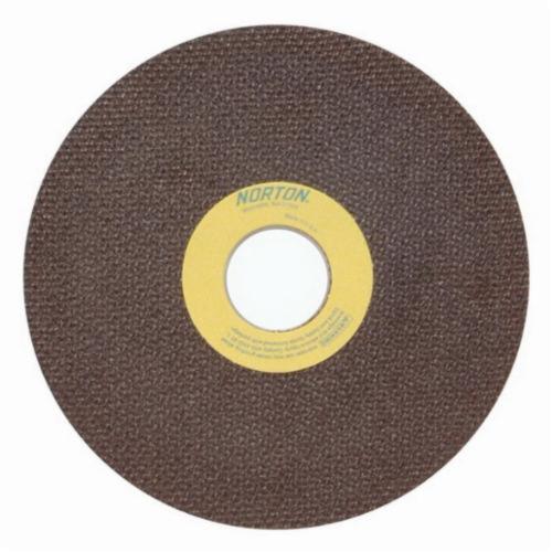 Norton® 66252835165 OBNA2 Toolroom Cut-Off Wheel, 6 in Dia x 0.06 in THK, 1-1/4 in Center Hole, 60 Grit, Aluminum Oxide Abrasive