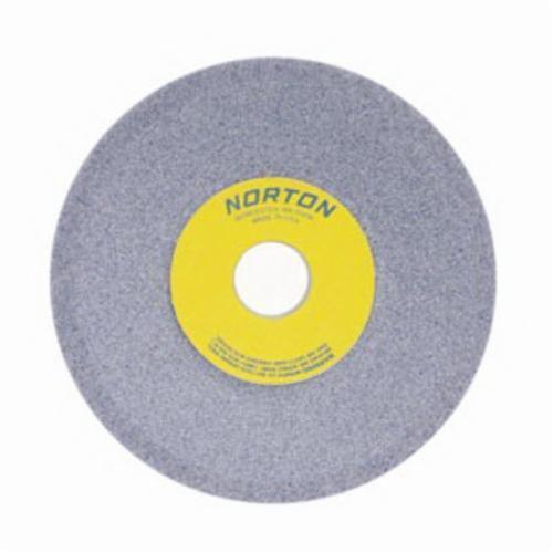 Norton® 66252836860 32A Dish Wheel, 6 in Dia x 1/2 in THK, 1-1/4 in Center Hole, 46 Grit, Aluminum Oxide Abrasive