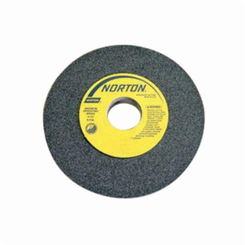 Norton® 66252837584 39C Straight Toolroom Wheel, 6 in Dia x 3/4 in THK, 1-1/4 in Center Hole, 60 Grit, Silicon Carbide Abrasive