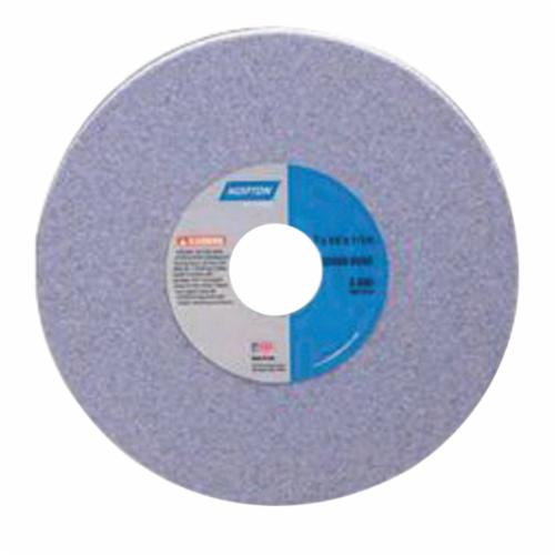 Norton® 66252837735 32A Dish Wheel, 6 in Dia x 3/4 in THK, 1-1/4 in Center Hole, 60 Grit, Aluminum Oxide Abrasive