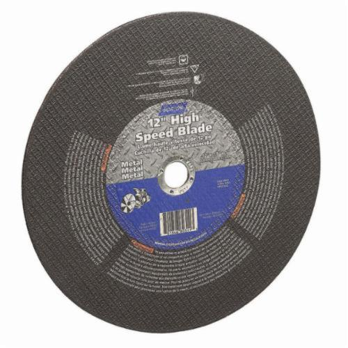 Norton® Gemini® Metal 66252837841 General Purpose Cut-Off Wheel, 14 in Dia x 1/8 in THK, 1 in Center Hole, 24 Grit, Aluminum Oxide Abrasive