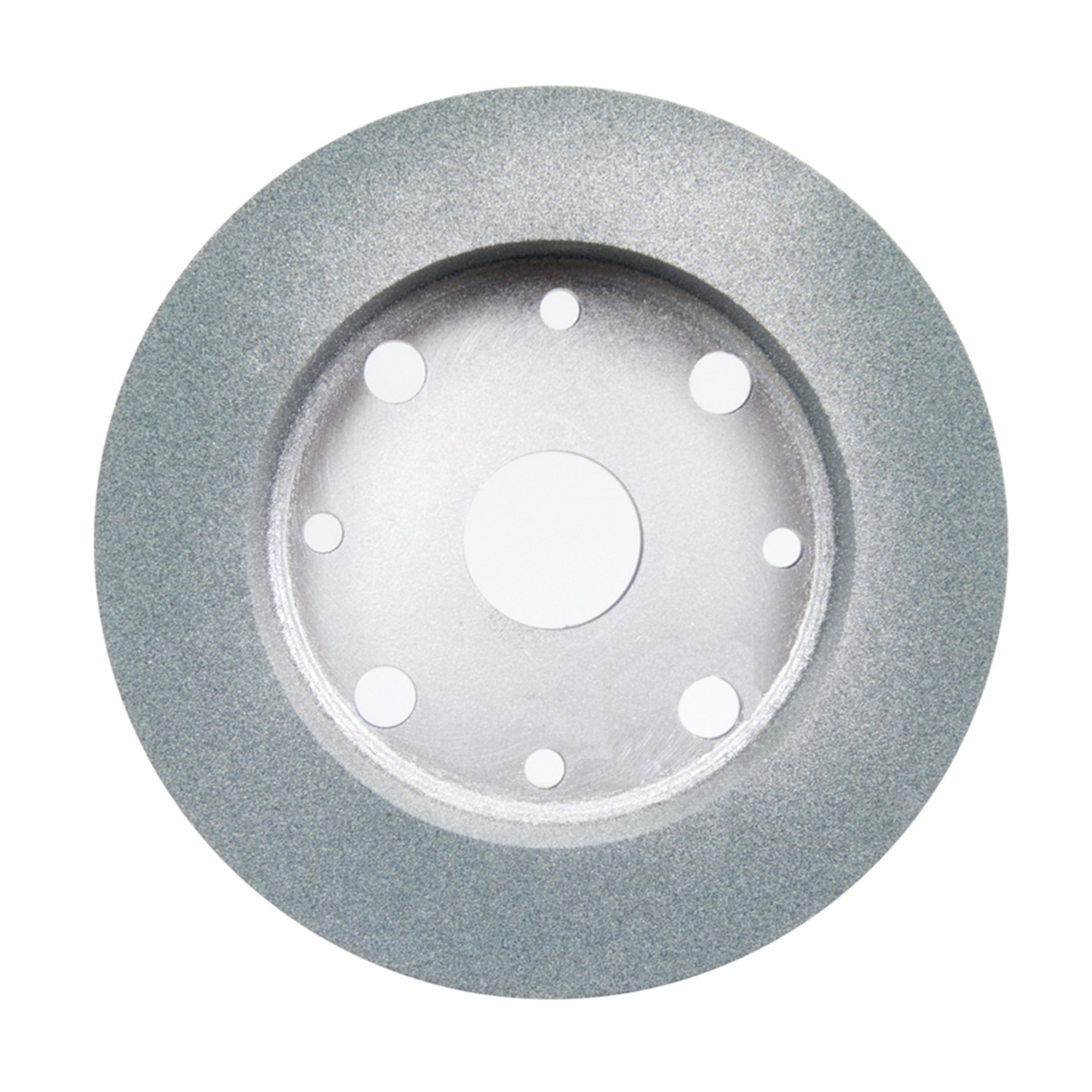 Norton® 66252838324 39C Cylinder Toolroom Wheel, 6 in Dia x 1 in THK, 4 in Center Hole, 60 Grit, Silicon Carbide Abrasive