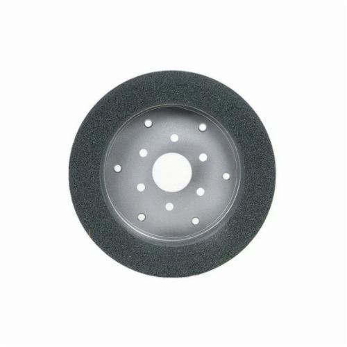 Norton® 66252838327 39C Cylinder Toolroom Wheel, 6 in Dia x 1 in THK, 4 in Center Hole, 80 Grit, Green Silicon Carbide Abrasive