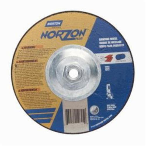 Norton® Gemini® RightCut™ 66252841907 All Purpose Cut-Off Wheel With Quick-Change Hub, 7 in Dia x 3/32 in THK, 24 Grit, Aluminum Oxide Abrasive