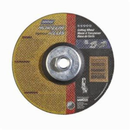 Norton® NorZon® Plus® RightCut™ 66252842007 RC6NZP27 All Purpose Cut-Off Wheel With Quick-Change Hub, 6 in Dia x 0.045 in THK, 24 Grit, Ceramic Alumina/Zirconia Alumina Abrasive