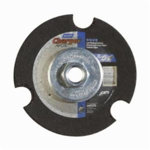 Norton® Gemini® AVOS® 66252842208 DC4518HCAVOS36 Flexible Cut-Off Wheel, 4-1/2 in Dia x 1/8 in THK, 36 Grit, Aluminum Oxide Abrasive