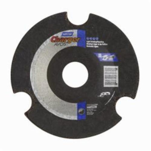 Norton® Gemini® AVOS® 66252842211 DC4518CAVOS60 Flexible Cut-Off Wheel, 4-1/2 in Dia x 1/8 in THK, 7/8 in Center Hole, 60 Grit, Aluminum Oxide Abrasive