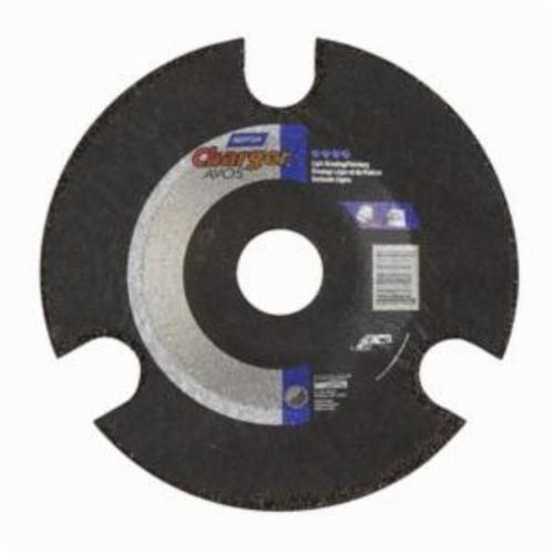 Norton® Gemini® AVOS® 66252842212 DC518CAVOS36 Flexible Cut-Off Wheel, 5 in Dia x 1/8 in THK, 7/8 in Center Hole, 36 Grit, Aluminum Oxide Abrasive