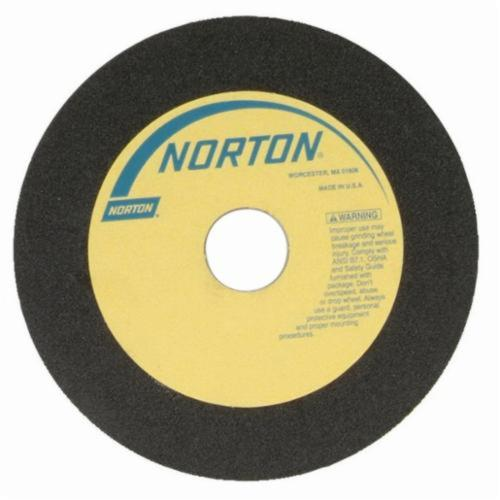 Norton® 66252938724 23A Toolroom Cut-Off Wheel, 7 in Dia x 0.05 in THK, 1-1/4 in Center Hole, 60 Grit, Aluminum Oxide Abrasive