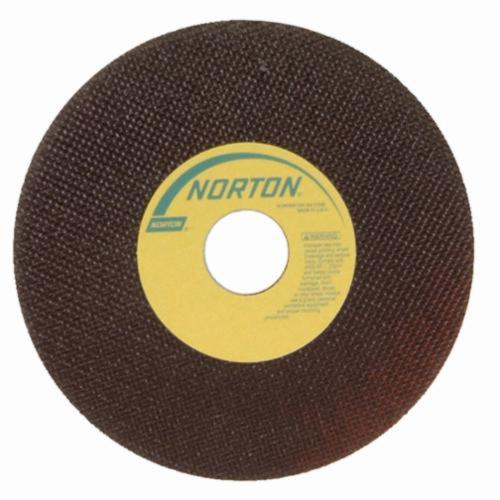 Norton® 66252938788 OBNA2 Toolroom Cut-Off Wheel, 7 in Dia x 0.035 in THK, 1-1/4 in Center Hole, 60 Grit, Aluminum Oxide Abrasive