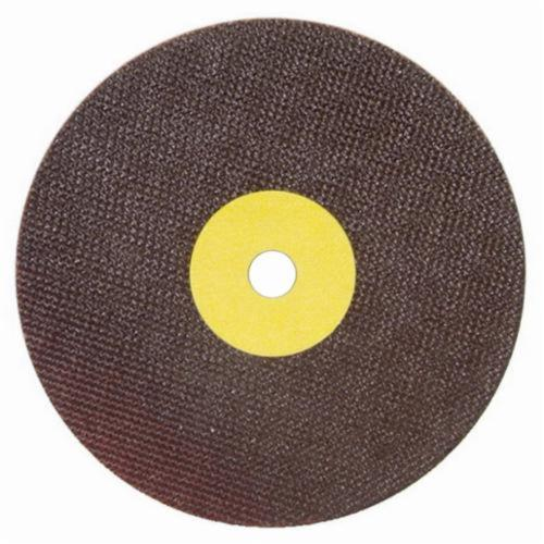 Norton® 66252938796 OBNA2 Toolroom Cut-Off Wheel, 7 in Dia x 0.06 in THK, 1-1/4 in Center Hole, 60 Grit, Aluminum Oxide Abrasive