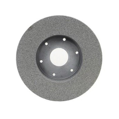 Norton® 66253006557 32A Plate Mounted Toolroom Wheel, 9 in Dia x 2 in THK, 4-15/16 in Center Hole, 60 Grit, Aluminum Oxide Abrasive