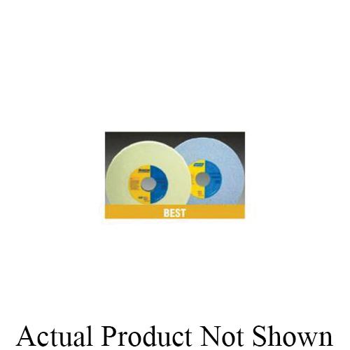 Norton® 66253043651 5SG Straight Toolroom Wheel, 8 in Dia x 1/2 in THK, 1-1/4 in Center Hole, 60 Grit, Ceramic Alumina Abrasive