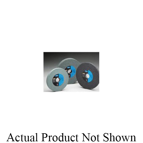Norton® 66253044312 39C Straight Toolroom Wheel, 8 in Dia x 3/4 in THK, 1-1/4 in Center Hole, 60 Grit, Silicon Carbide Abrasive