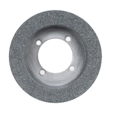 Norton® 66253044942 53A Cylinder Toolroom Wheel, 8 in Dia x 2 in THK, 5-1/2 in Center Hole, 46 Grit, Aluminum Oxide Abrasive