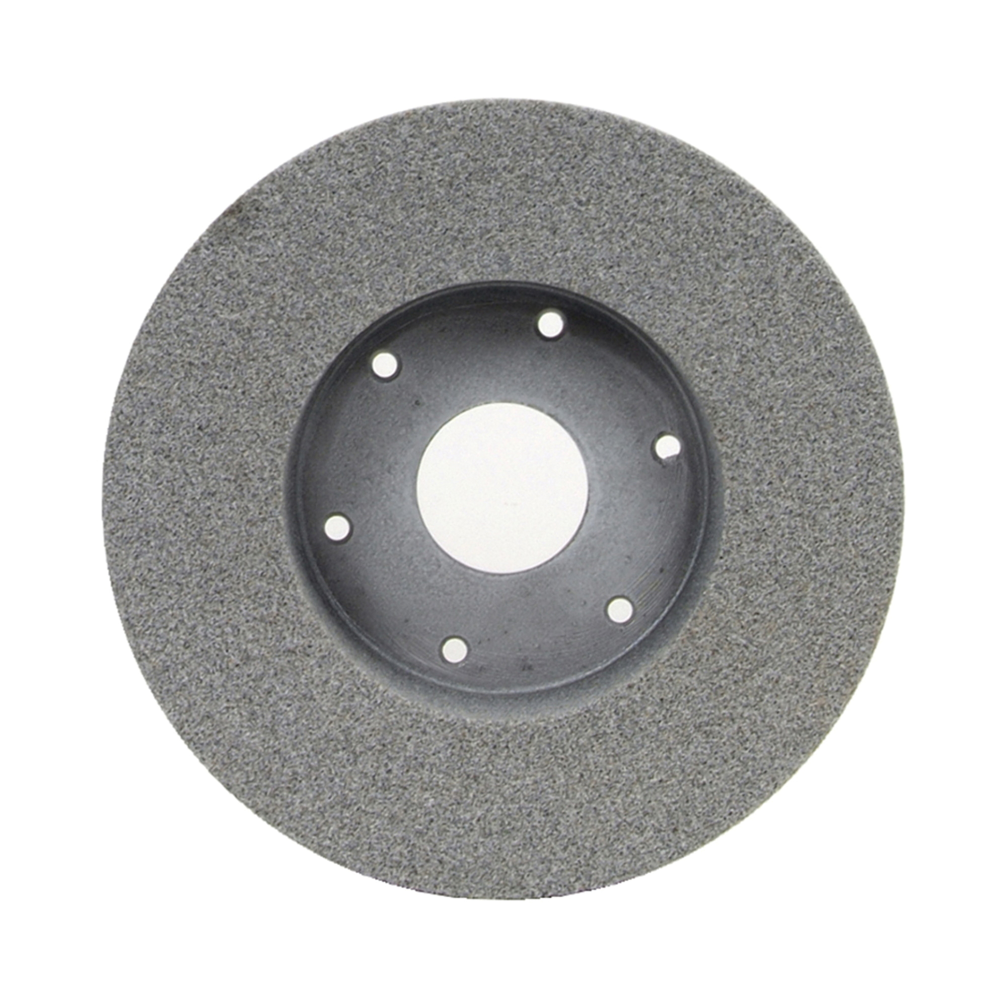 Norton® 66253049115 32A Plate Mounted Toolroom Wheel, 9 in Dia x 2 in THK, 4-15/16 in Center Hole, 46 Grit, Aluminum Oxide Abrasive