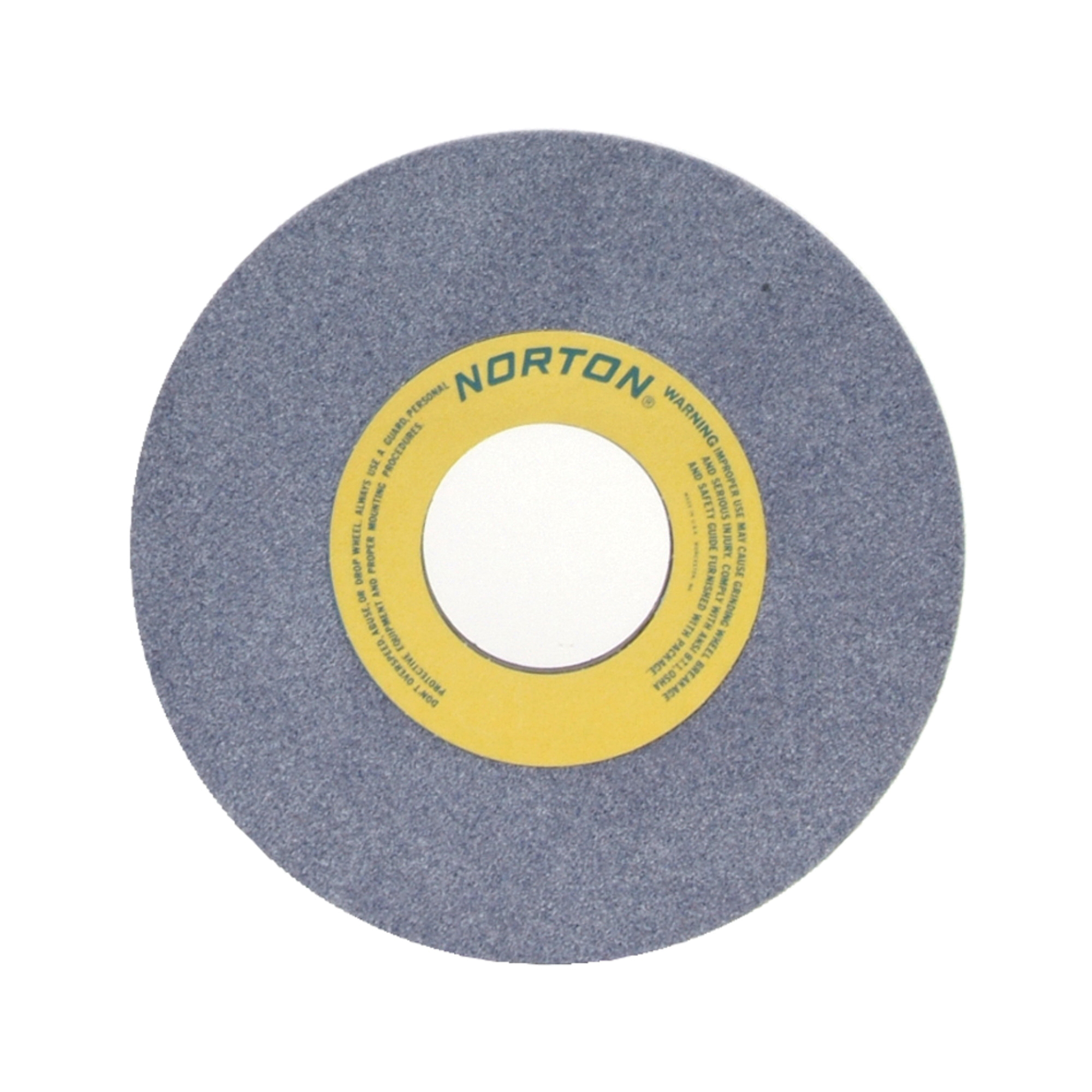 Norton® 66253138903 32AA Straight Toolroom Wheel, 10 in Dia x 1 in THK, 3 in Center Hole, 46 Grit, Aluminum Oxide Abrasive
