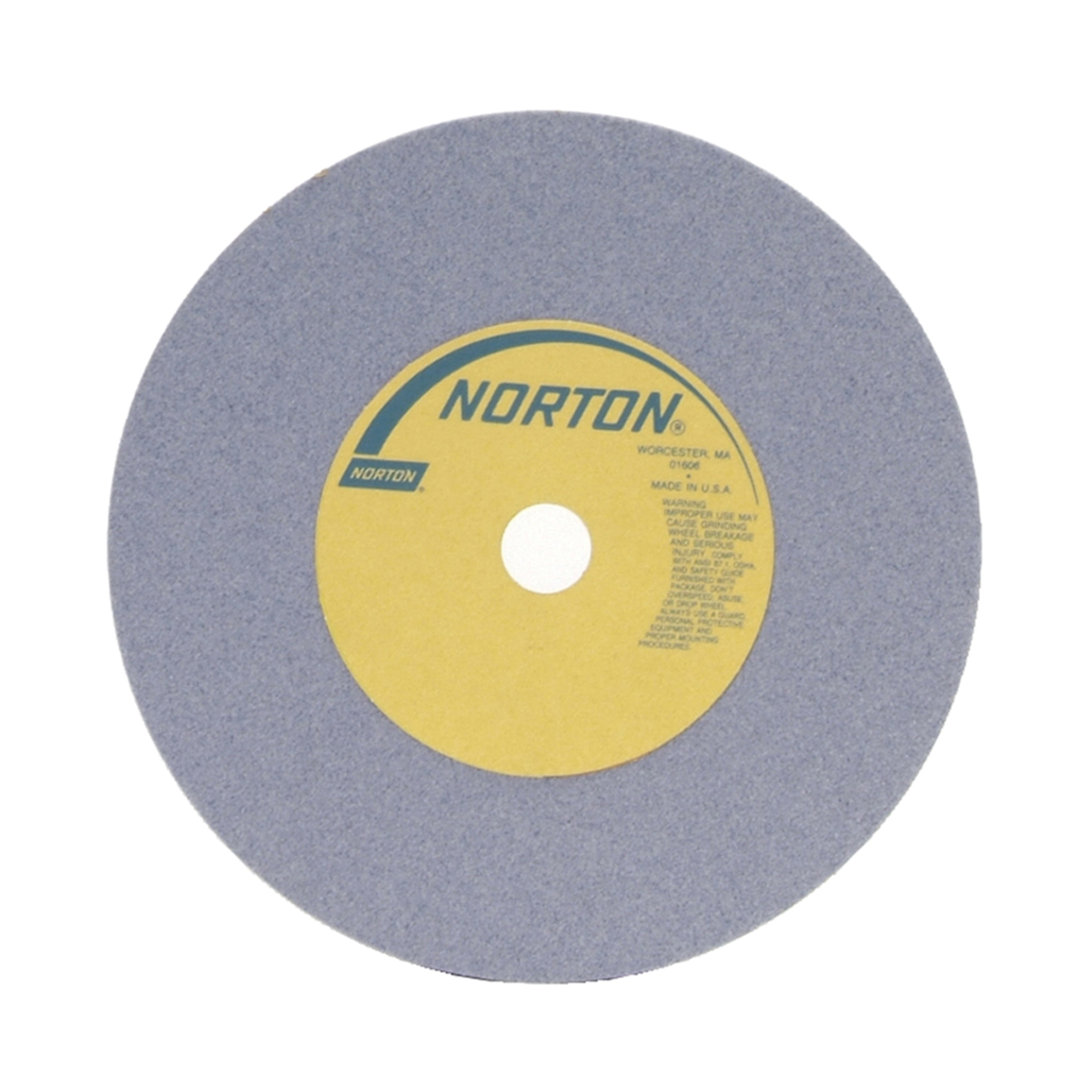 Norton® 66253160750 32A Straight Toolroom Wheel, 10 in Dia x 1 in THK, 3 in Center Hole, 46 Grit, Aluminum Oxide Abrasive