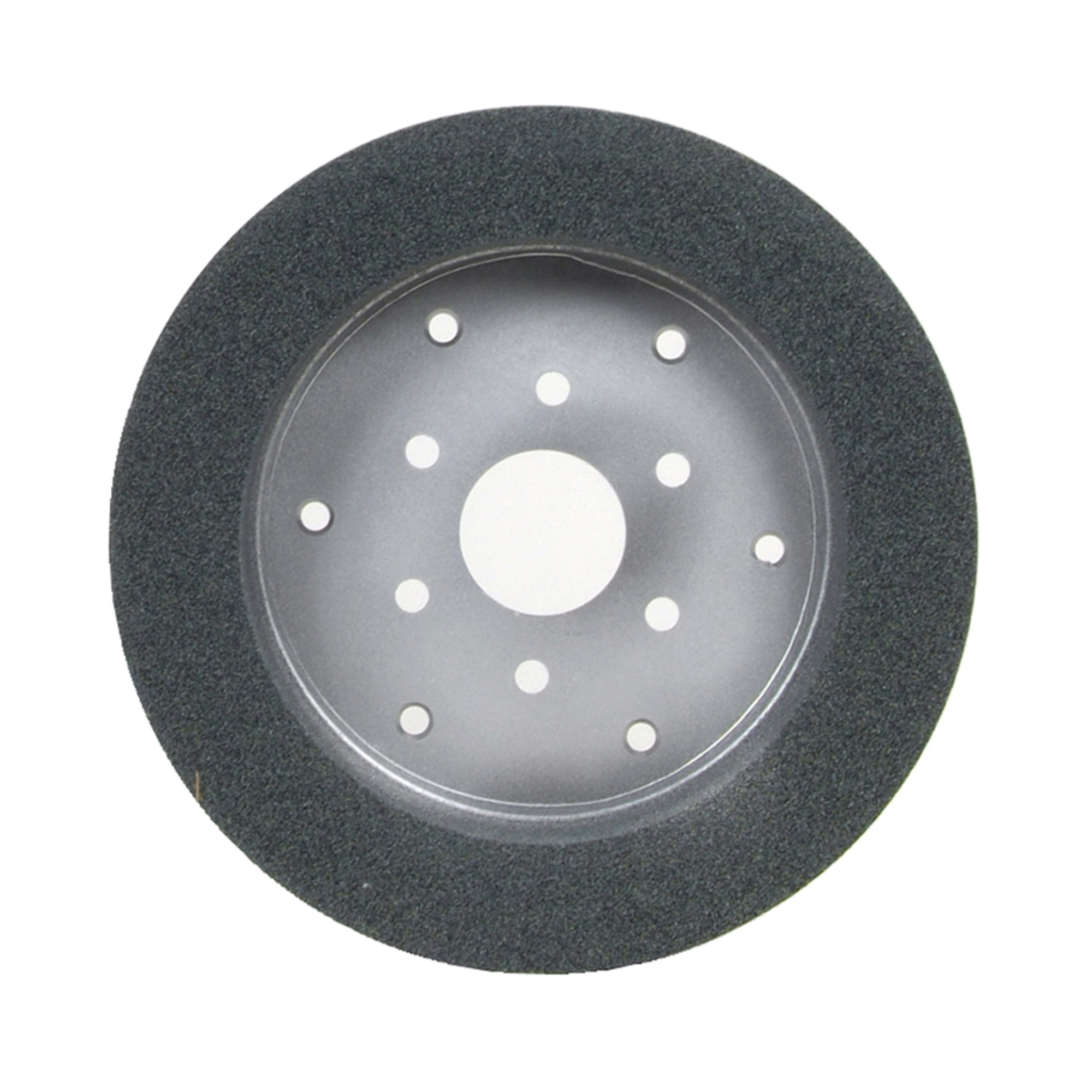 Norton® 66253161675 39C Cylinder Toolroom Wheel, 10 in Dia x 2 in THK, 7 in Center Hole, 60 Grit, Silicon Carbide Abrasive