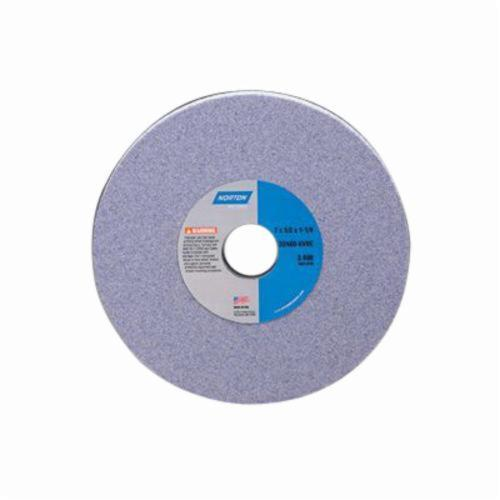 Norton® 66253161687 32A Toolroom Wheel, 10 in Dia x 2 in THK, 7-1/2 in Center Hole, 54 Grit, Aluminum Oxide Abrasive