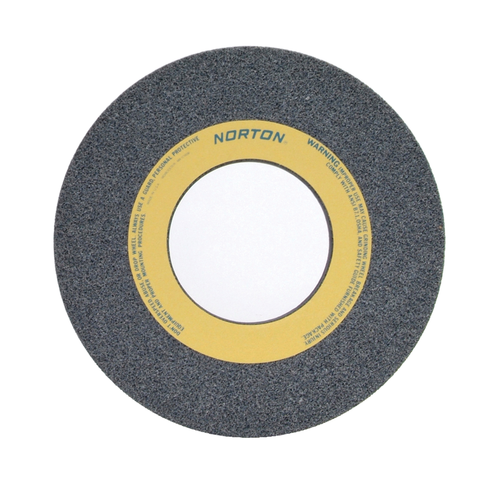 Norton® 66253262841 32A Straight Toolroom Wheel, 12 in Dia x 1 in THK, 5 in Center Hole, 46 Grit, Aluminum Oxide Abrasive