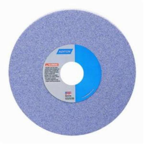 Norton® 66253288799 38A Straight Toolroom Wheel, 7 in Dia x 1/4 in THK, 1-1/4 in Center Hole, 100 Grit, Aluminum Oxide Abrasive
