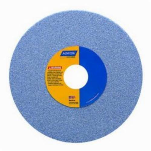Norton® 66253288806 5SG Straight Toolroom Wheel, 8 in Dia x 1/2 in THK, 1-1/4 in Center Hole, 46 Grit, Ceramic Alumina Abrasive