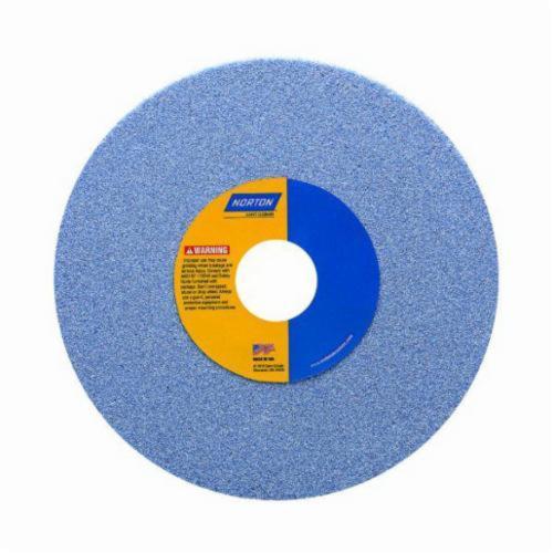 Norton® 66253288808 5SG Straight Toolroom Wheel, 8 in Dia x 1/2 in THK, 1-1/4 in Center Hole, 60 Grit, Ceramic Alumina Abrasive
