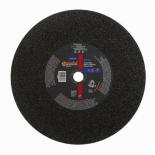 Norton® Gemini® 66253313588 CO14764GRC Rapid Cut Cut-Off Wheel, 14 in Dia x 3/34 in THK, 1 in Center Hole, 36 Grit, Aluminum Oxide Abrasive