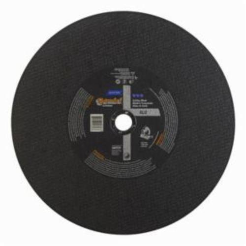 Norton® Gemini® 66253314816 CO14764GALU Type 01 Chop Saw Reinforced Straight Cut-Off Wheel, 14 in Dia x 7/64 in THK, 1 in Center Hole, 36 Grit, Aluminum Oxide Abrasive