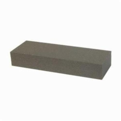 Norton® Crystolon® 66253325915 Single Grit Vendible Sharpening Benchstone, 4 in L x 1 in W x 1/4 in H, 280 Grit