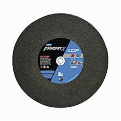 Norton® Foundry X™ 66252842776 Depressed Center Wheel, 9 in Dia x 1/4 in THK, 7/8 in Center Hole, Aluminum Oxide Abrasive