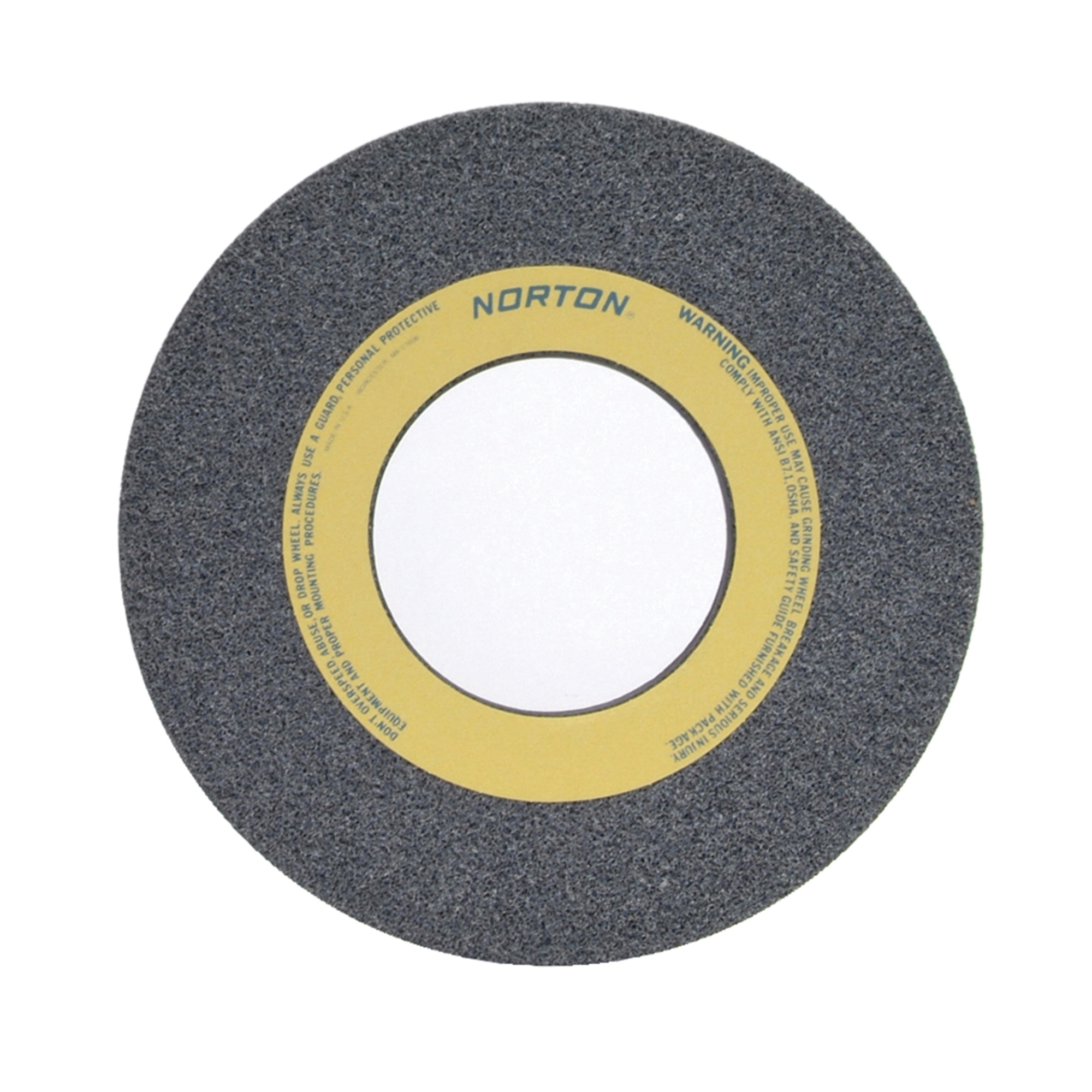 Norton® 66253363761 32A Straight Toolroom Wheel, 14 in Dia x 1/2 in THK, 5 in Center Hole, 60 Grit, Aluminum Oxide Abrasive