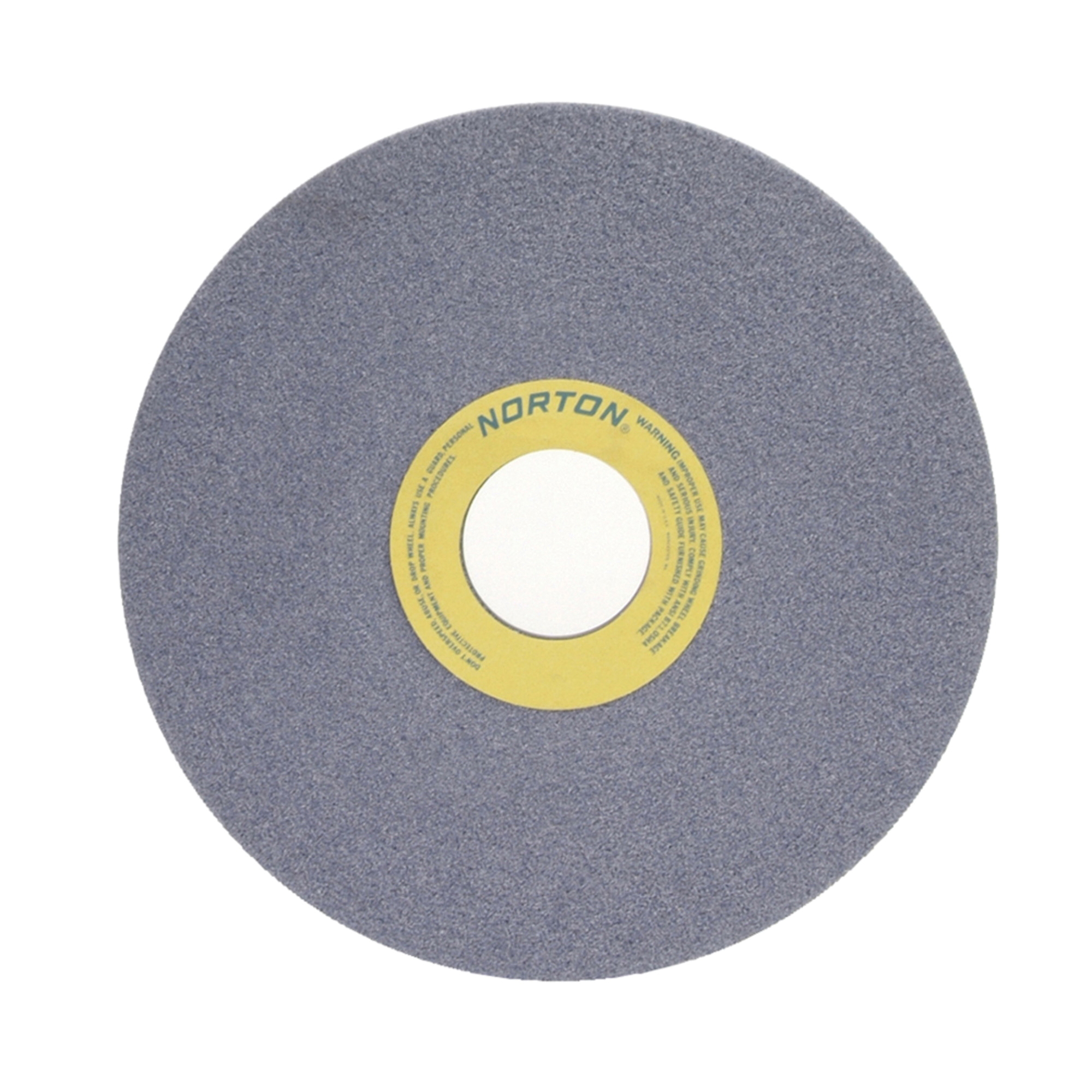 Norton® 66253363927 32A Straight Toolroom Wheel, 14 in Dia x 1 in THK, 3 in Center Hole, 60 Grit, Aluminum Oxide Abrasive