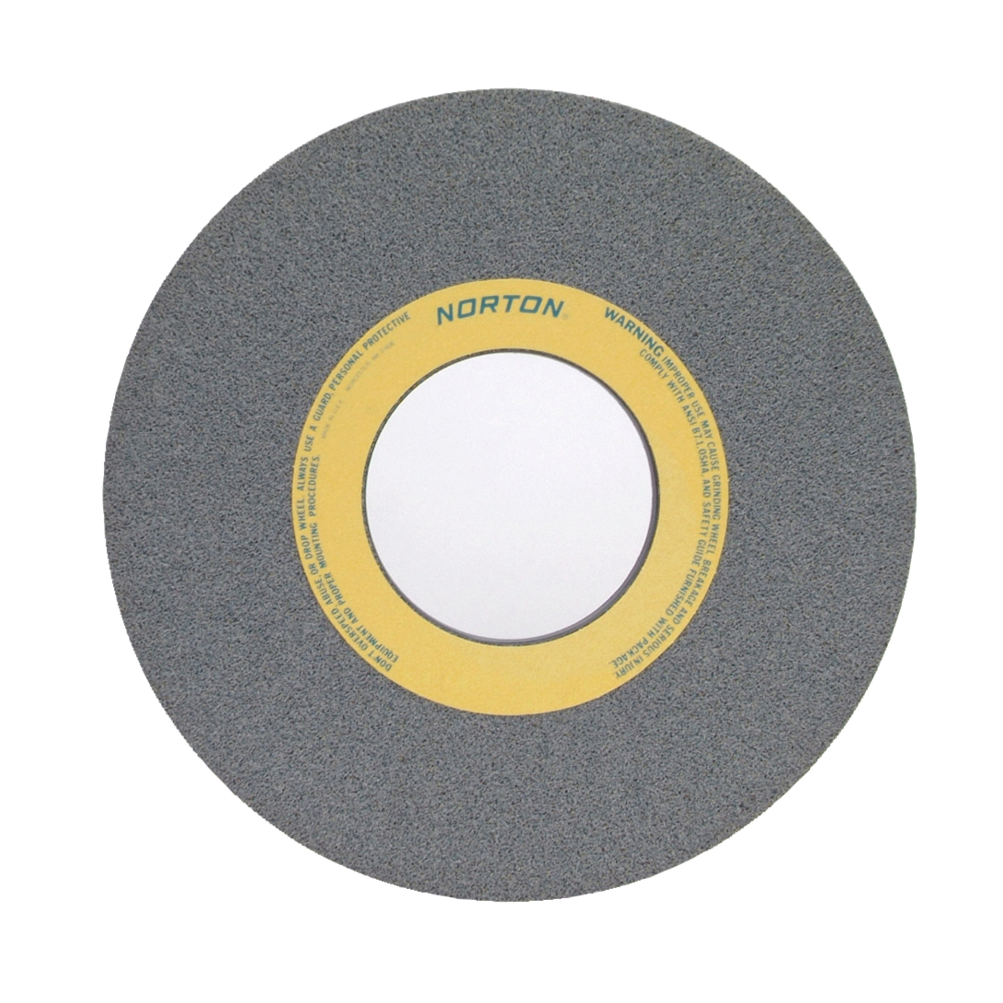 Norton® 66253364077 32A Straight Toolroom Wheel, 14 in Dia x 1 in THK, 5 in Center Hole, 60 Grit, Aluminum Oxide Abrasive